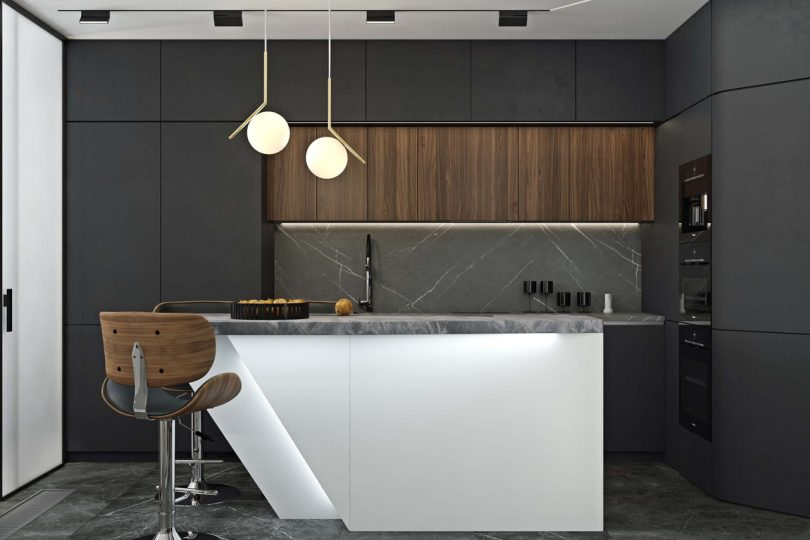 Novoe Tushino Is a Minimalist Contemporary Apartment in Moscow