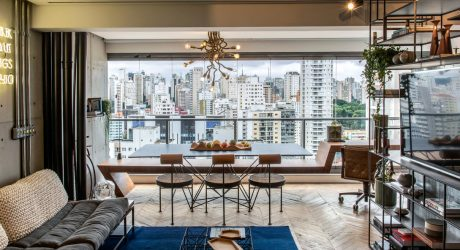 Rua 141 + Rafael Zalc Renovates Apartment RZ in São Paulo with an Upcycling Concept