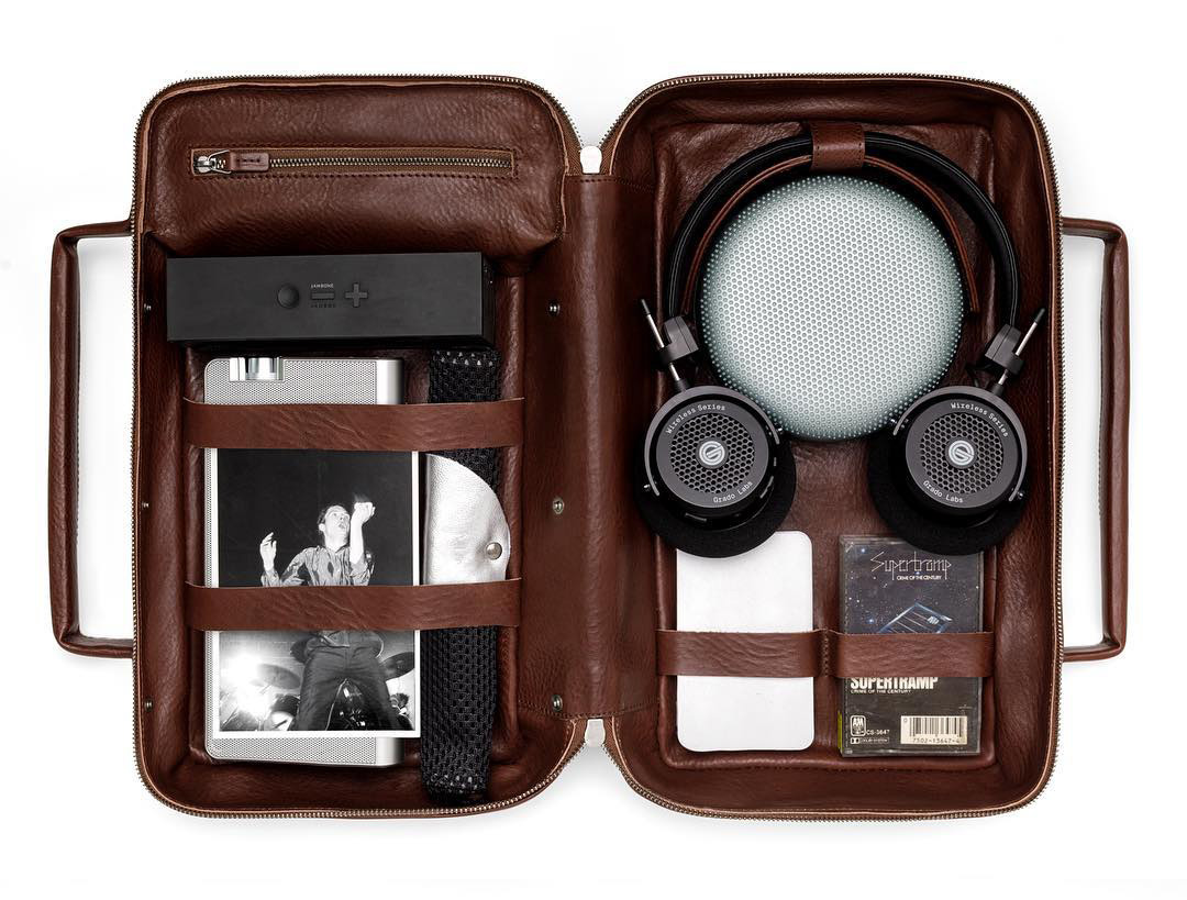 This Is Ground Music Dopp Kit Is an Organizational Boombox