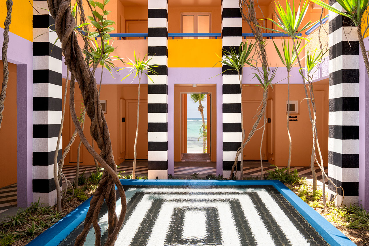 Camille Walala Stays Within the Lines at the SALT of Palmar Hotel