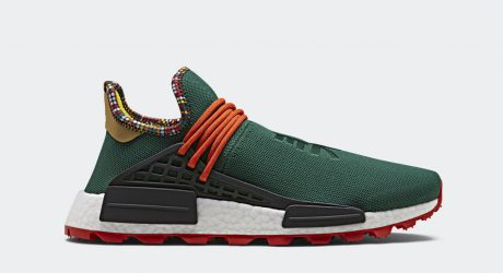 East African Motifs Inspire Pharrell Williams adidas SOLARHU Capsule Collection