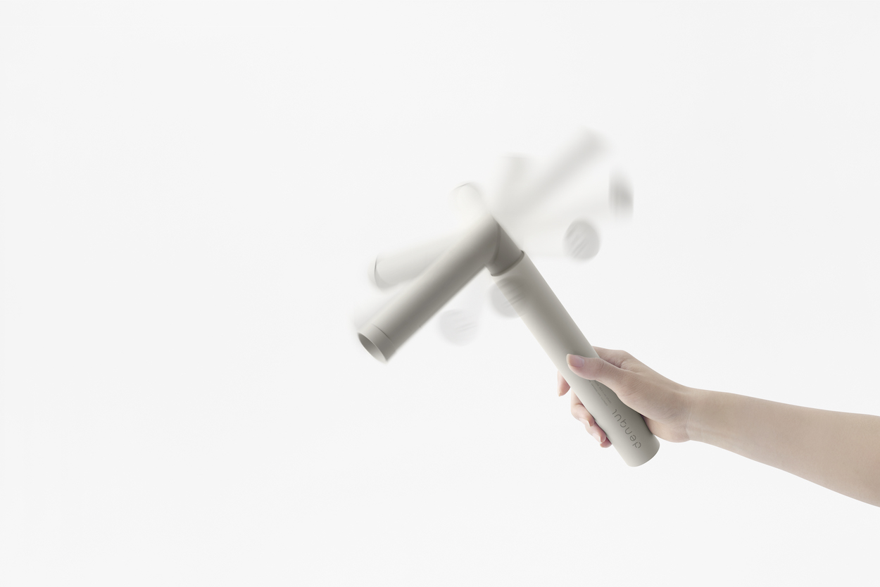 Denqul Emergency Mobile Battery by Nendo for Sugita Ace