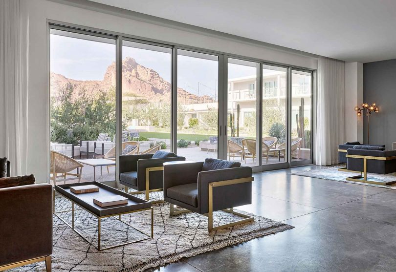Mountains and Mid-Century Modern: MARKZEFF's Balances Both at the Mountain Shadows Resort in Arizona