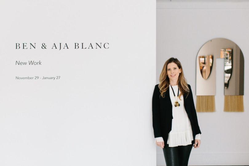 波士顿沙龙的本&Aja Blanc的《新工作》