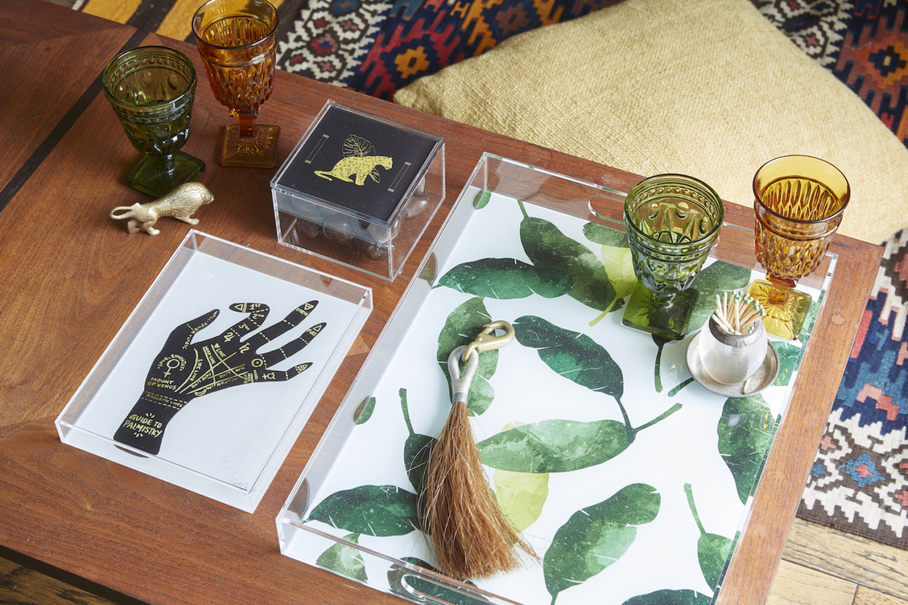 It's Quite Clear: Society6's New Acrylic Trays + Boxes Add More Art to Your Life