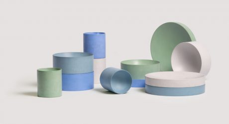 Booles Minimalist Concrete Tableware by Von Morgen
