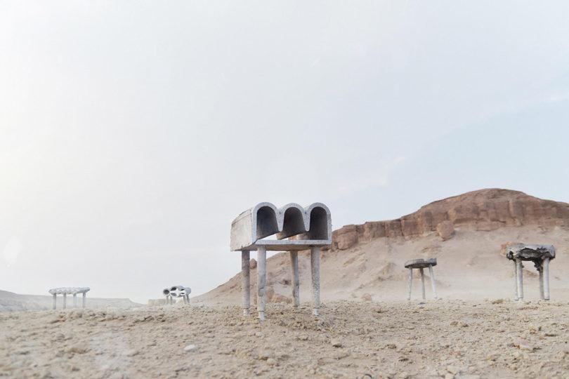 迪拜沙漠铸造科威特城市馆设计周_18