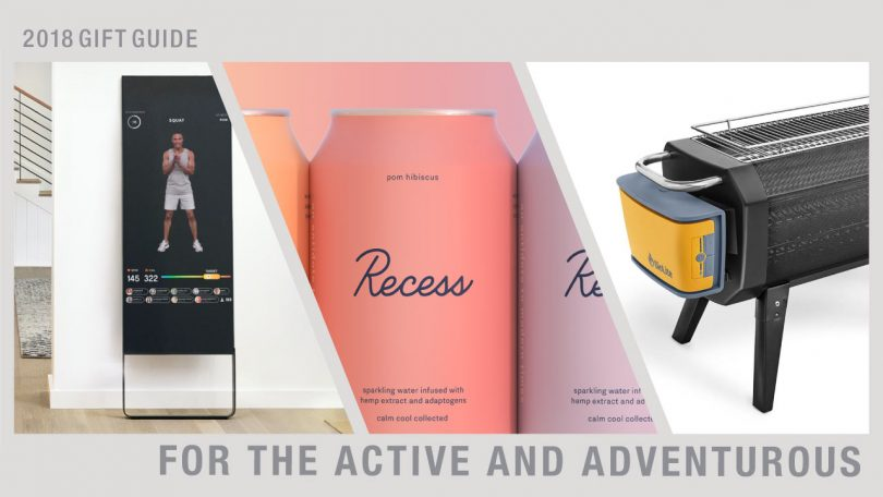 2018 Gift Guide: For the Active and Adventurous
