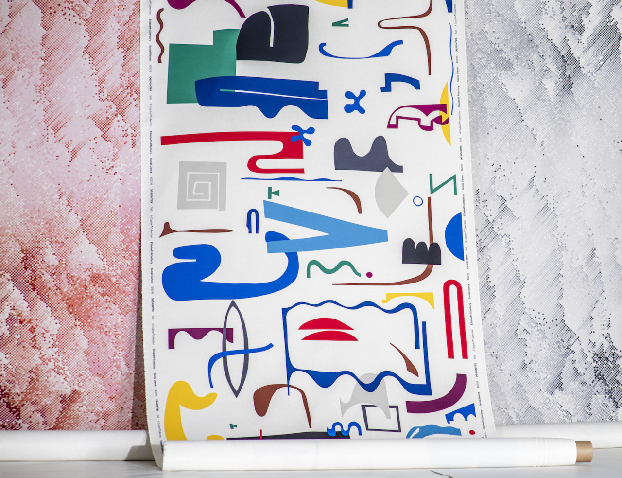 DesignTex and Crypton Launch 5×5 Collection of Printed Fabrics by Contemporary Artists