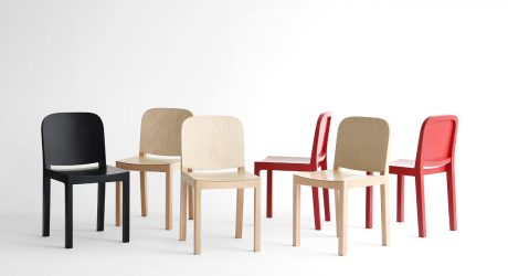 Jungmo Yang Designs the Gyeol Chair Out of Birch Plywood