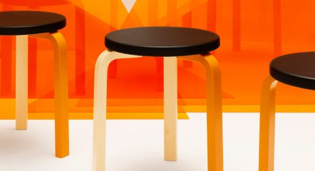 Karhu Unveils Limited Edition Version of Artek's Stool 60