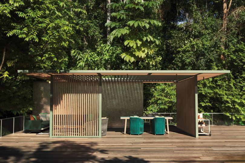 Kettal Unveils a Series of Outdoor Pavilions that Can Adapt to Any Environment