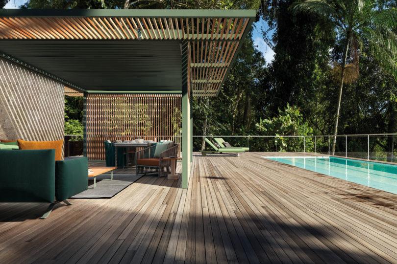 Kettal推出了一系列能够适应任何环境的室外展馆。