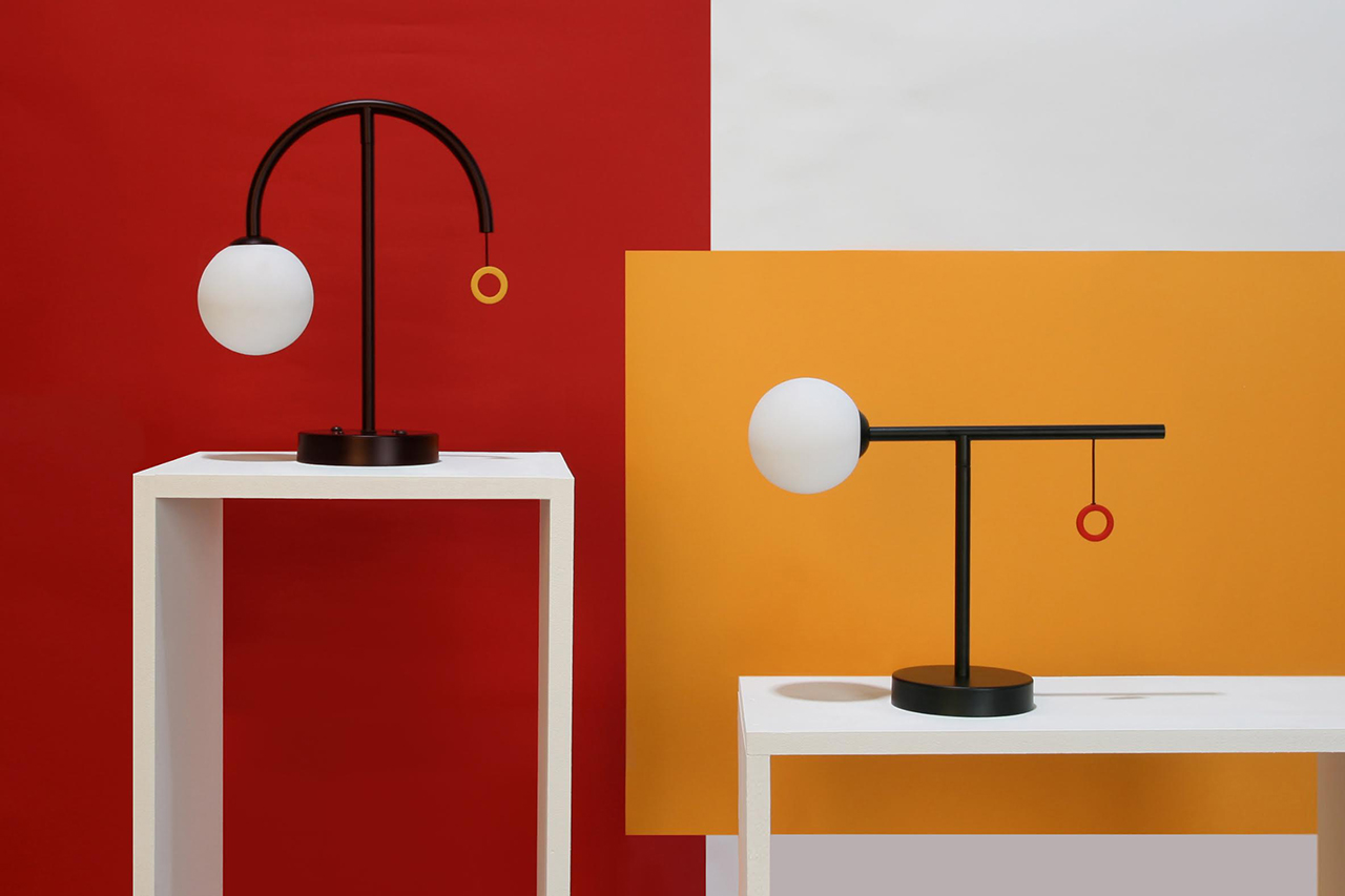Beautifully Balanced Más Table Lamps