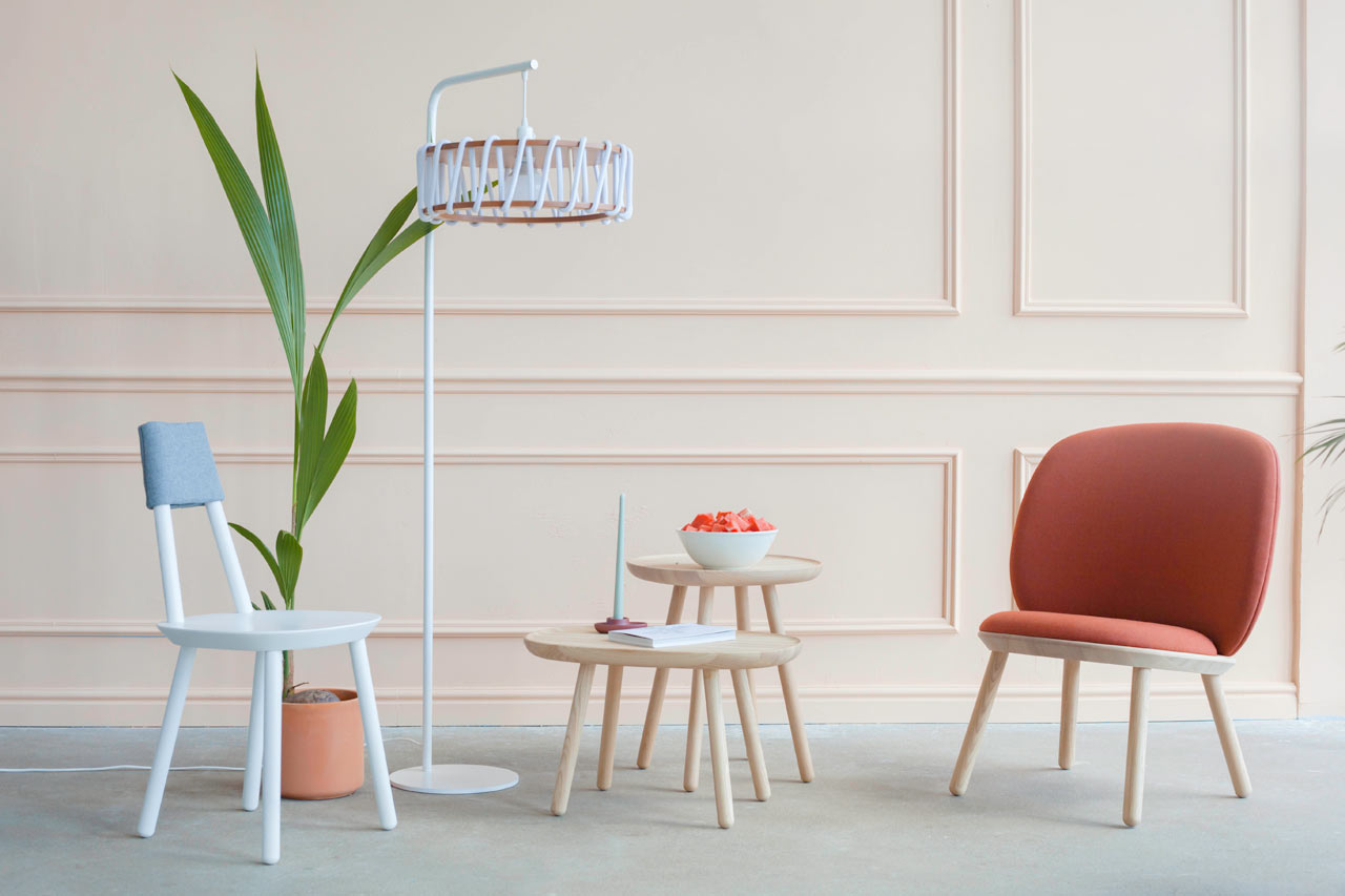 The Macaron Floor Lamp Is the Latest Addition to This Dessert-Inspired Lighting Collection