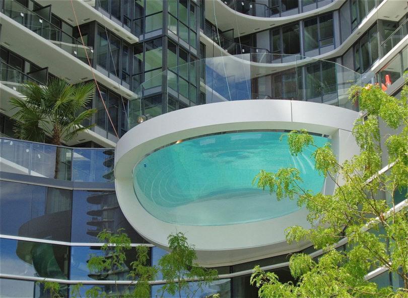 5个不可思议的池子在设计上很热,温度上很凉