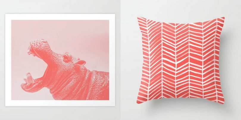 Celebrating Pantone?s Color of the Year with Society6