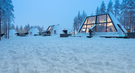 "This Winter, Get ""Päntsdrunk"" at the Glass Resort in Finland"
