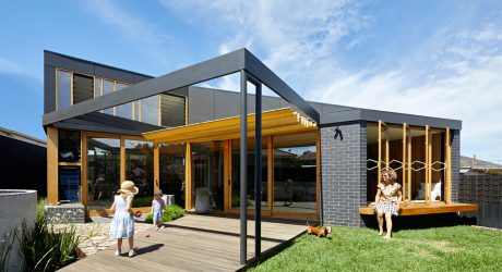BENT Annexe Is a Modern Addition to a 1960s Home in Melbourne