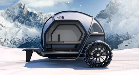 BMW Designworks and The North Face Futurelight Teardrop Trailer Concept