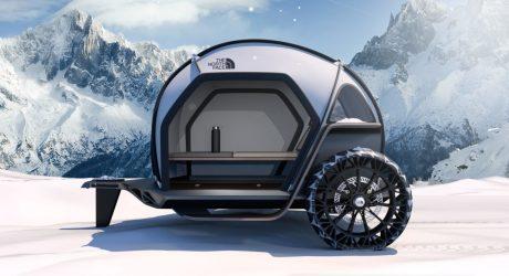 BMW Designworks and The North Face Futurelight Teardrop Trailer Concept