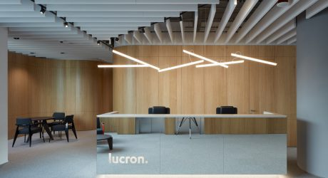 Cechvala Architects Designs a Modern Office for LUCRON