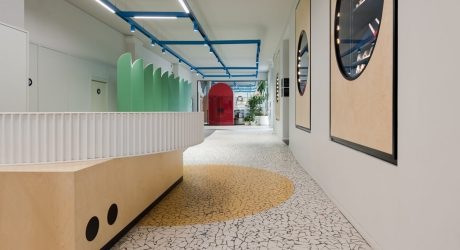 Detsky mir Gets a New, Playful Headquarters in Moscow