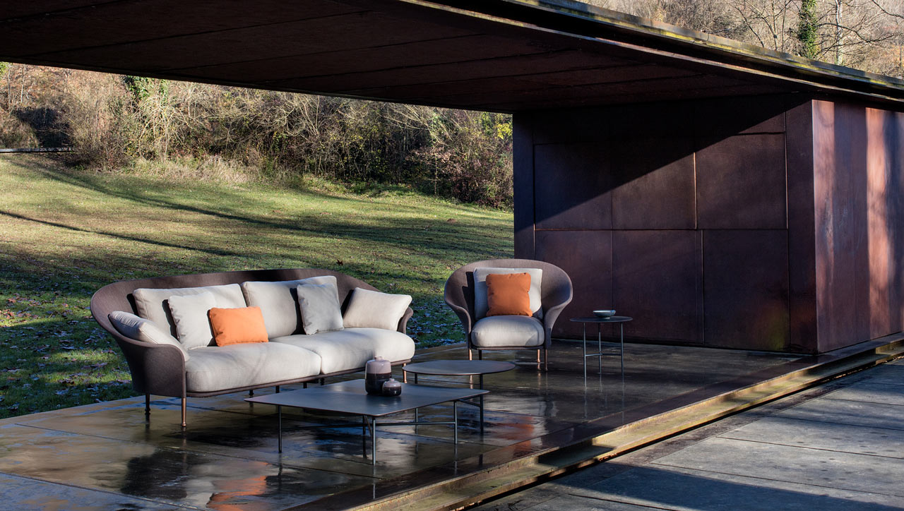 Ludovica roberto palomba design a 50s inspired outdoor for Mobili outdoor