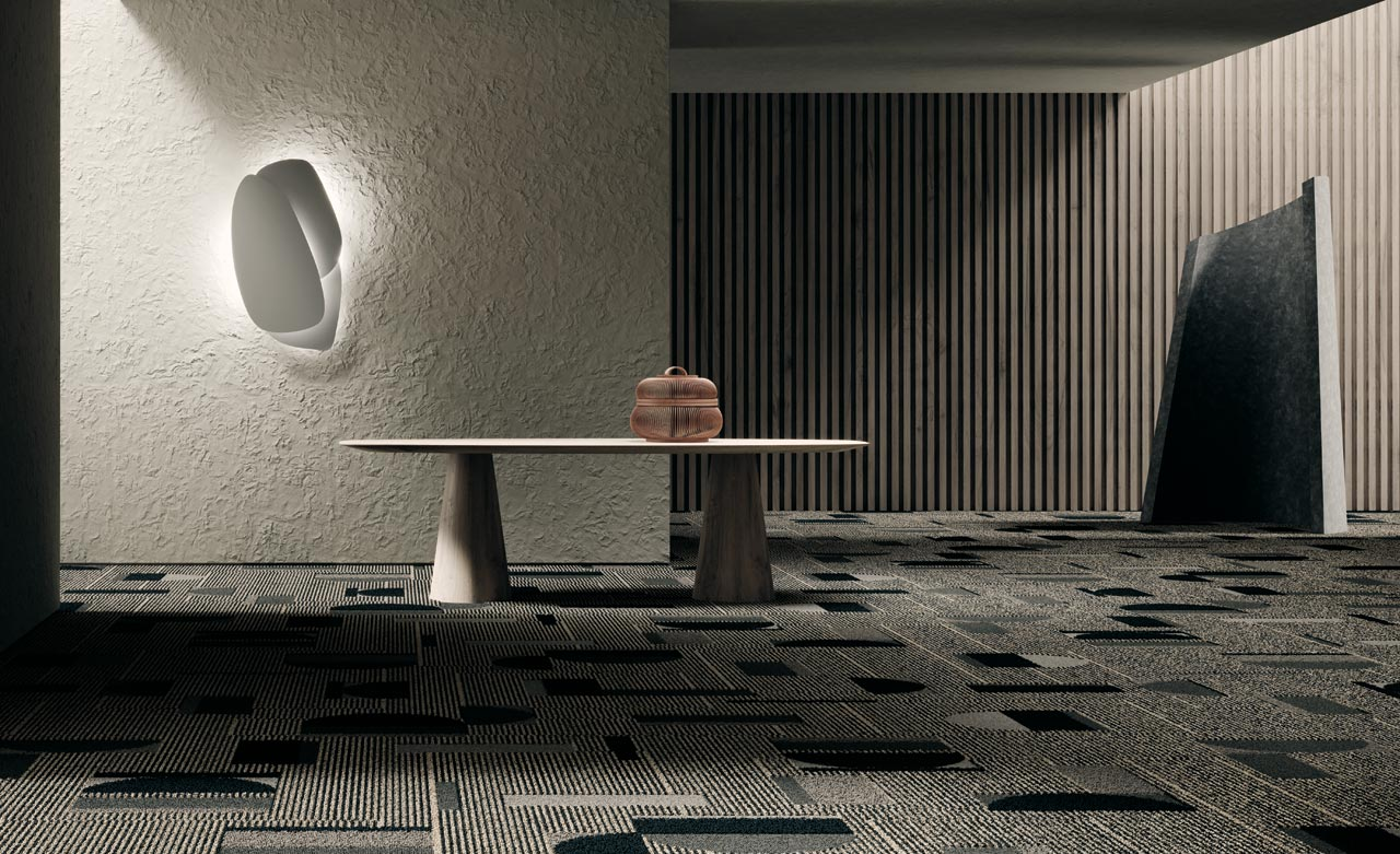 Shaw Contract Releases Forum: A Graphic and Textural Carpet Collection