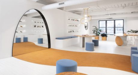 Bower Creates a Brooklyn Showroom for Shoe Brand Gray Matters