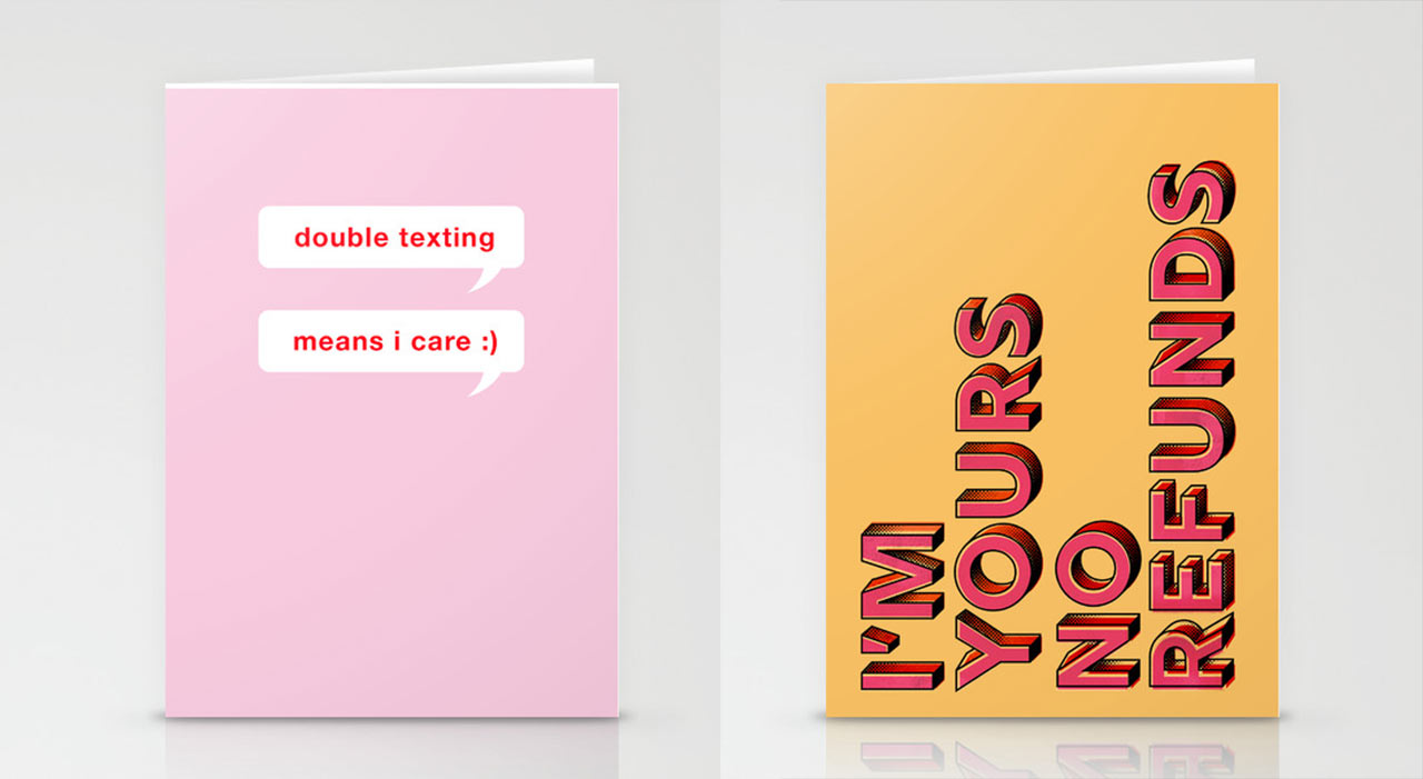Hinge x Society6 Offer Limited Edition Cards for a Modern Valentine's Day