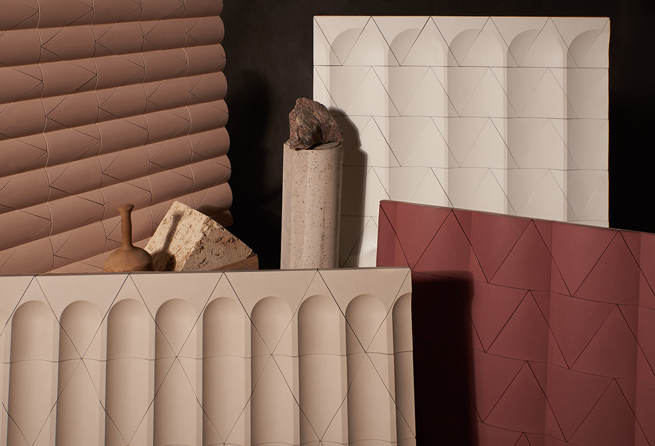 A Tile Collection That Takes on Architecture's Oldest Embellishments