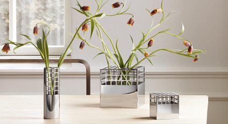 Art Deco-Inspired Accessories by Monica Forster  Design Studio for Georg Jensen