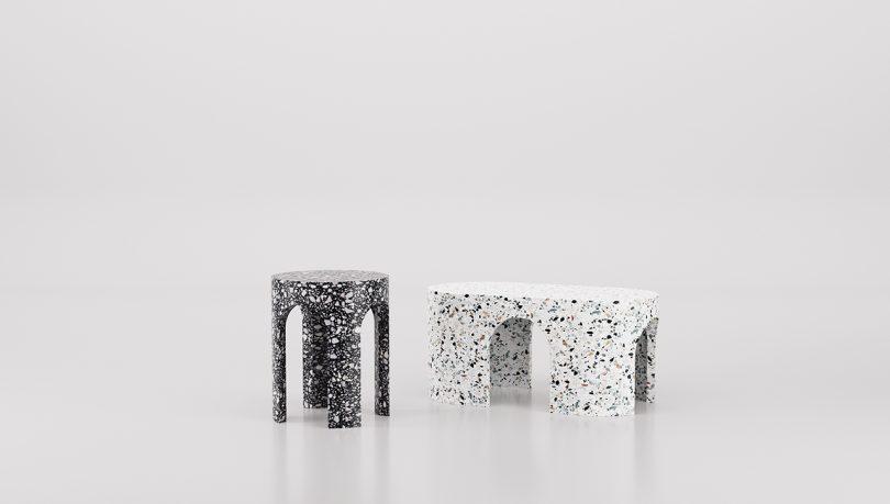 Matteo Leorato Creates Marble Pieces That Rock