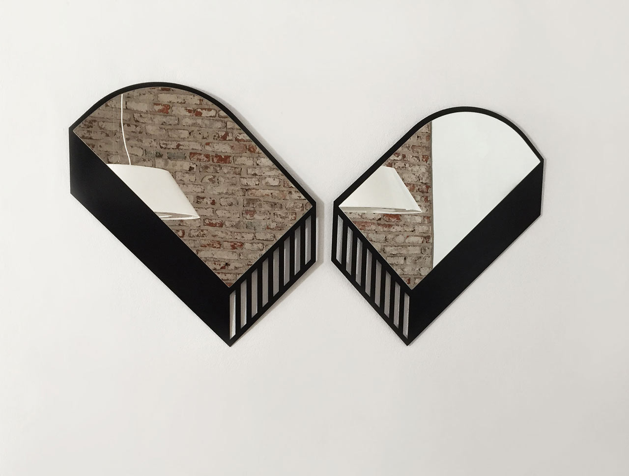 Mestizodisenio Launches the Panorama Collection of Abstract Mirrors