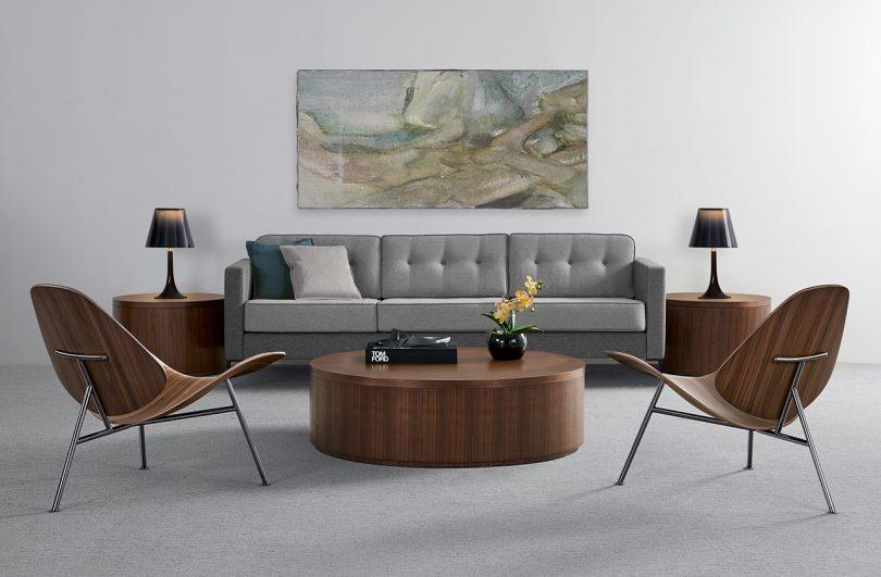 Thomas Pedersen and Bernhardt Design Debut the Pedersen Lounge Chair