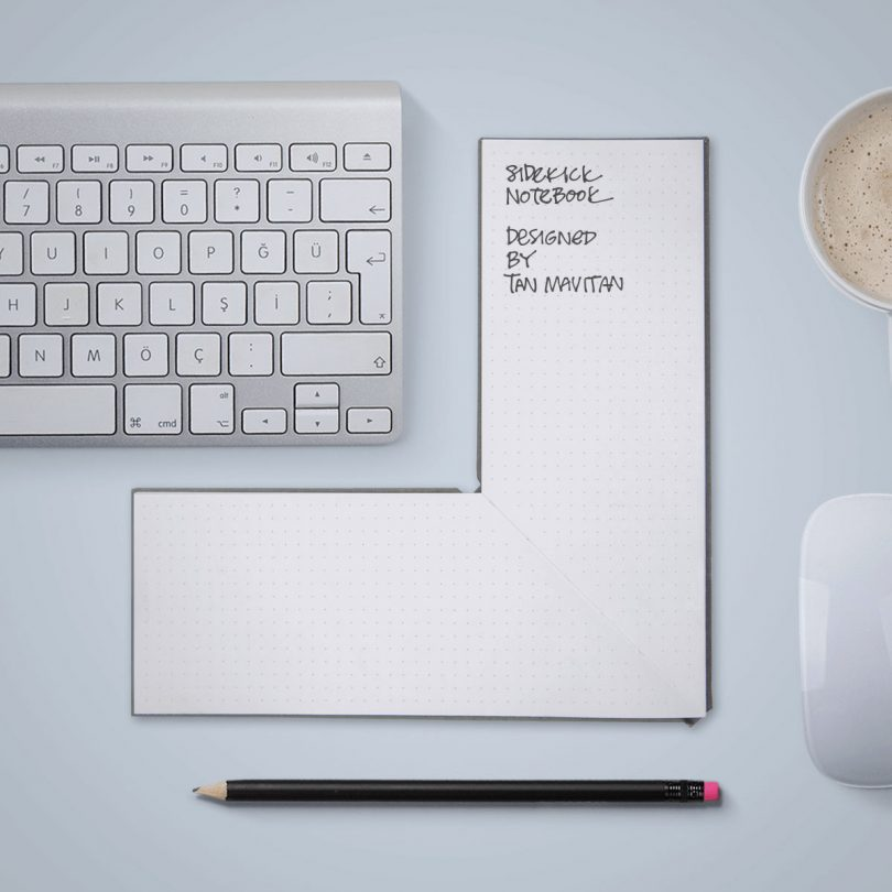 The Sidekick Notebook Conveniently Wraps Around a Keyboard, iPad, or Book