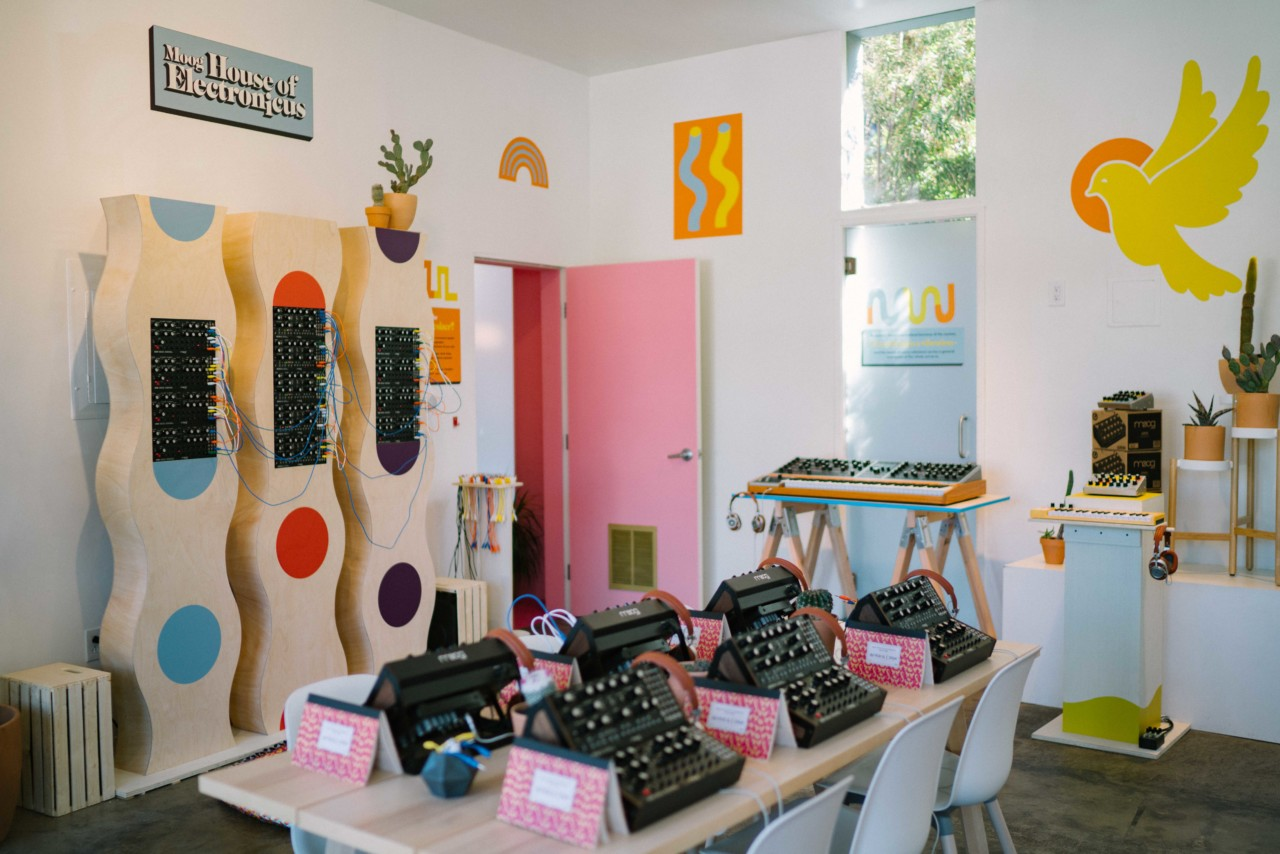 The Moog House of Electronicus Pop-Up
