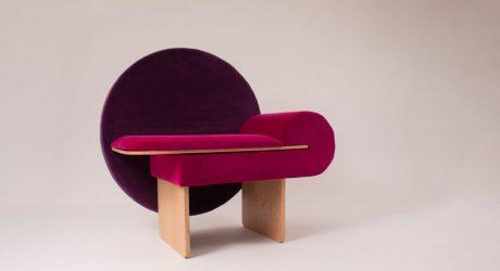 The Art Deco Inspired Vanity Chair by Vako Design