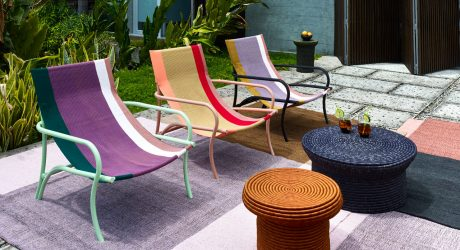 Sebastian Herkner Designs the Maraca Lounge Chair for ames