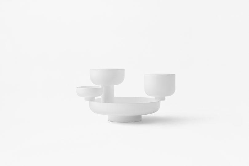 Fungi Minimalist Bowls by Nendo