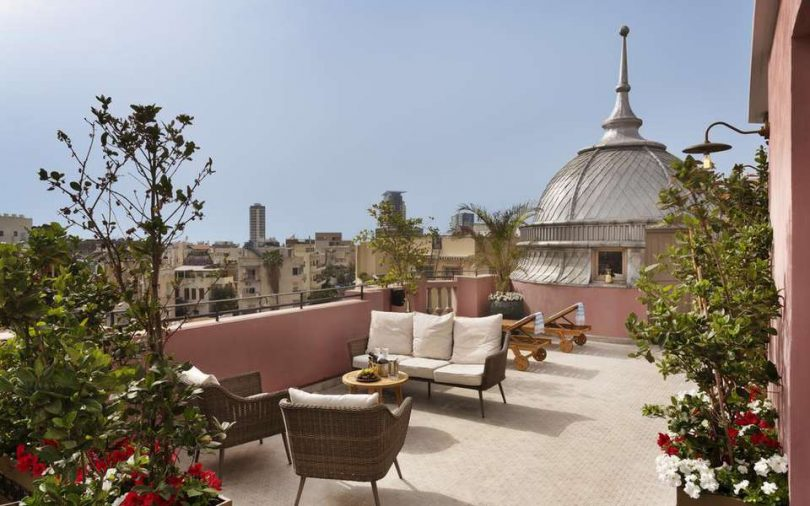 Art Deco Meets Arabesque at Nordoy, Tel Aviv's Oldest Hotel