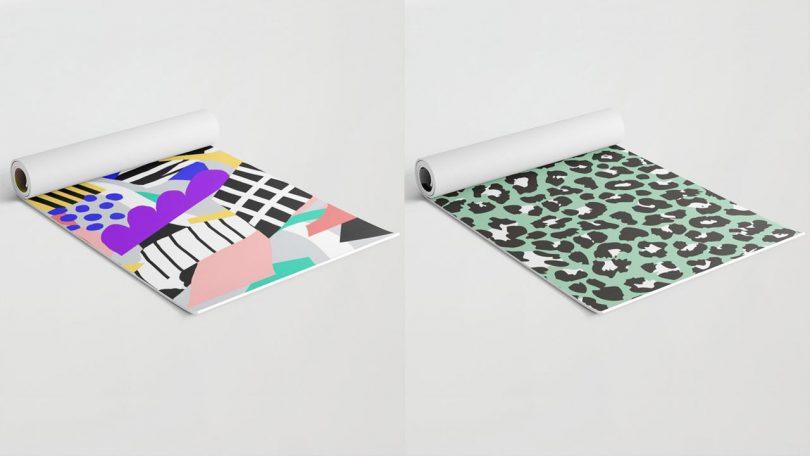 Modern, Artist-Designed Yoga Mats from Society6