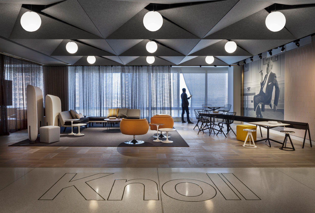 The New Knoll Los Angeles Office and Showroom