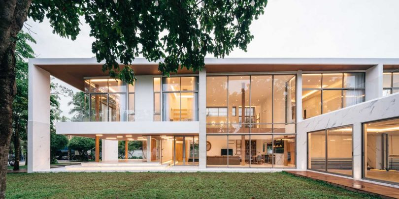 A Modern House in Thailand for a Fisherman Family
