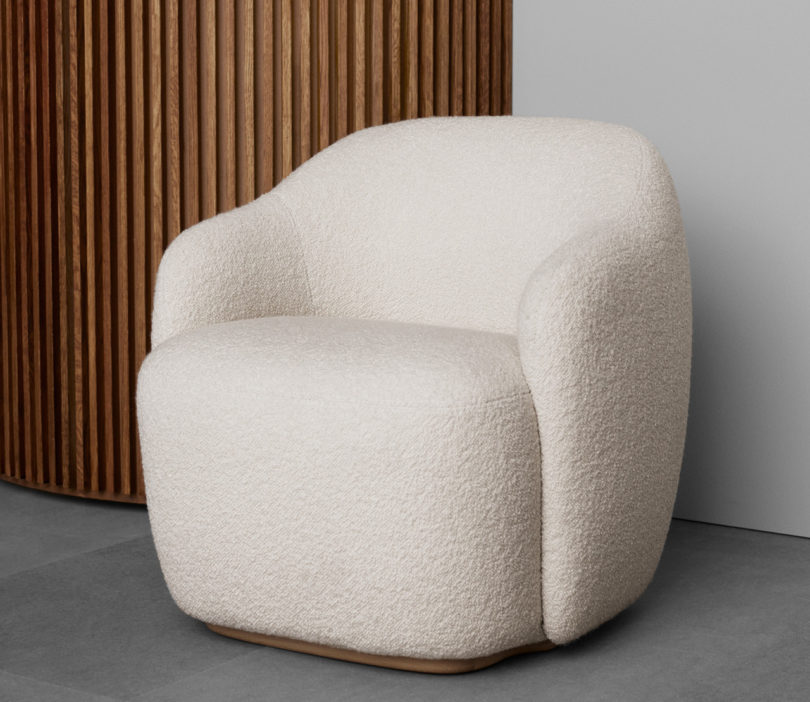 An armchair from the Fogia Collection
