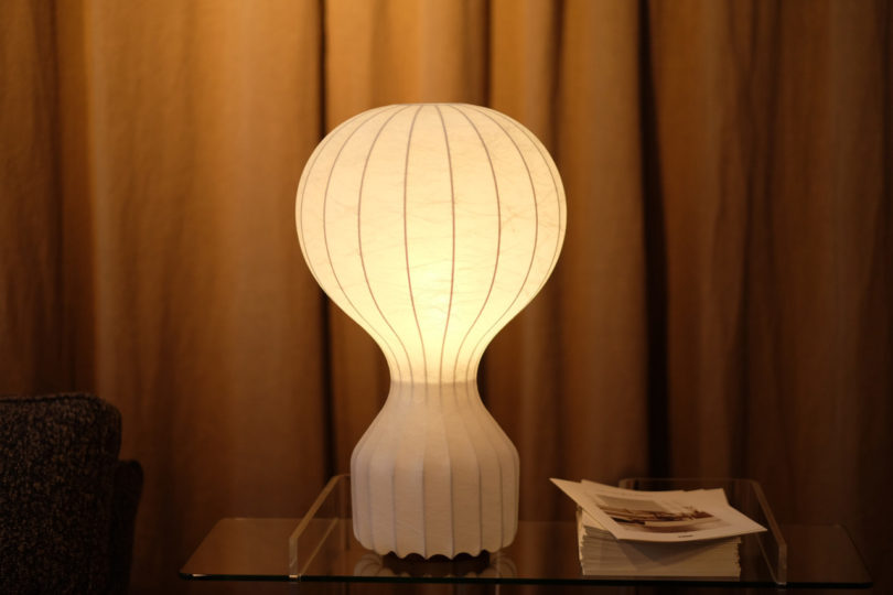 A lamp from the Fogia Collection