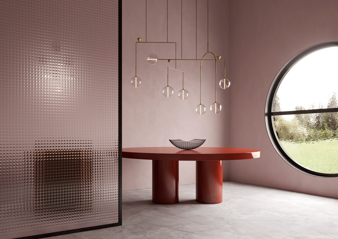 Giopato & Coombes Designs Mobile-Like Chandelier Called Dewdrops