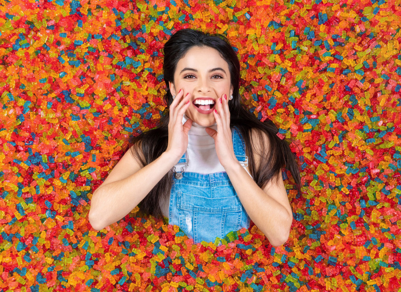 QnA VBage A Pop-Up Multi-Sensorial Gummy Bear Museum in San Franciso