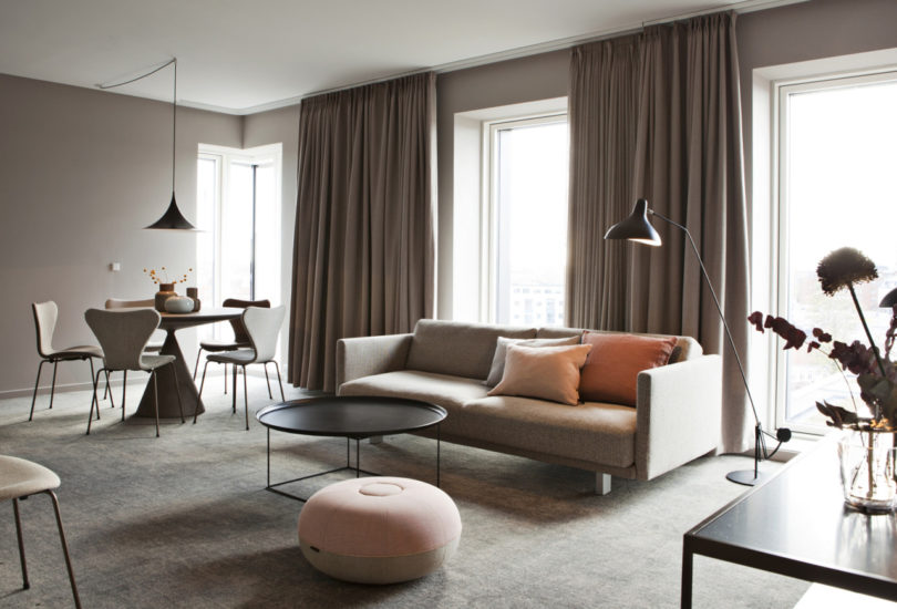 , In Odense, a City Known for Fairytales, Hotel Odeon Upholds Danish Design Traditions